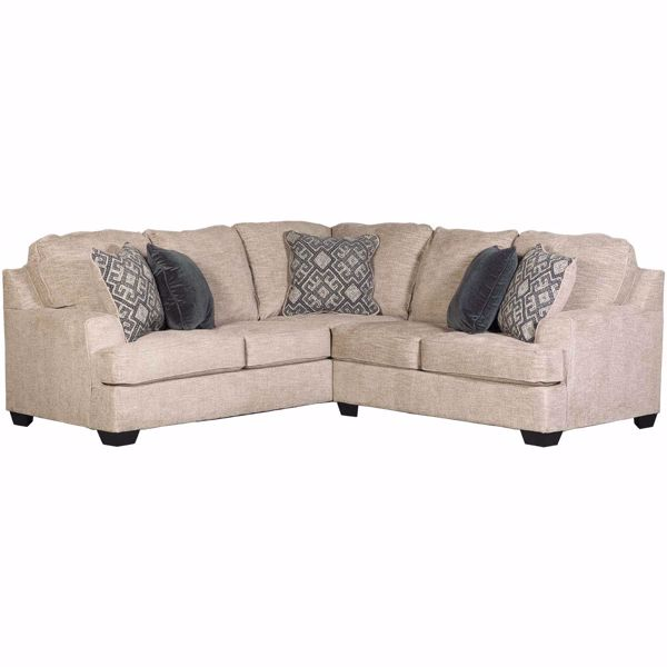 Bovarian Stone 2 Piece Sectional with LAF Sofa 5610348/56 | Ashley .
