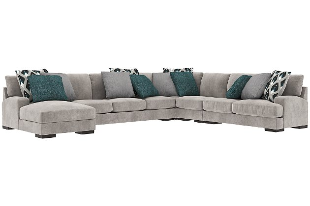 Bardarson 5-Piece Sectional with Chaise | Ashley Furniture HomeSto