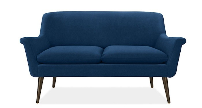 10 Easy Pieces: Curvaceous Loveseats, Luxe Edition - Remodelis