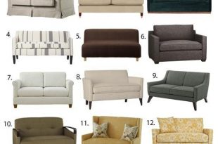 Small Space Seating: Sofas & Loveseats Under 60 Inches Wide .