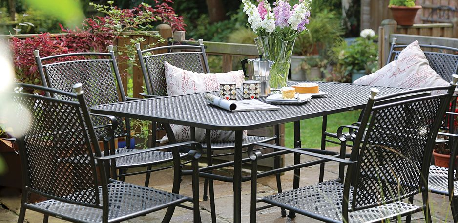Know More About The Metal Outdoor Furniture | Kettler garden .