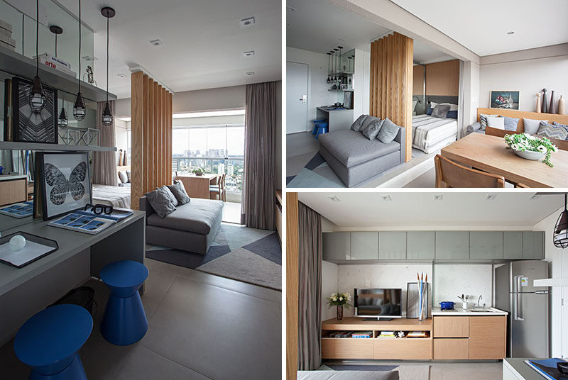 This Small Apartment Makes Efficient Use of Limited Space With .