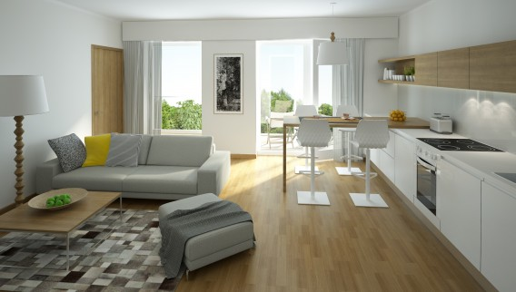 4 Furniture Layout Floor Plans for a Small Apartment Living Room .