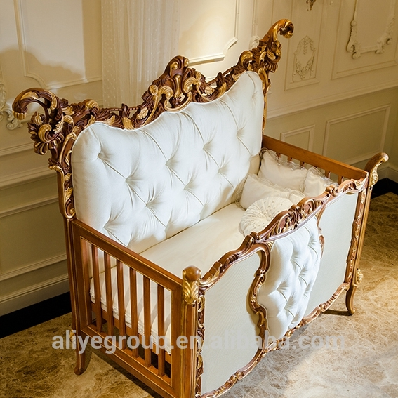 Ak38-solid Germany Beech Wood Baby Cribs - Buy Baby Furniture,Bed .