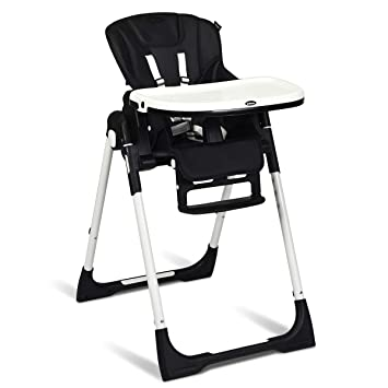 Amazon.com : INFANS High Chair for Babies & Toddlers, Foldable .