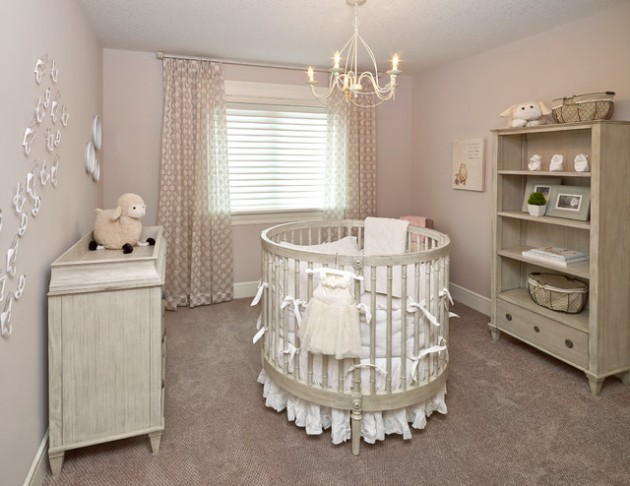 15 Cool and Attractive Baby Nursery Design Ide