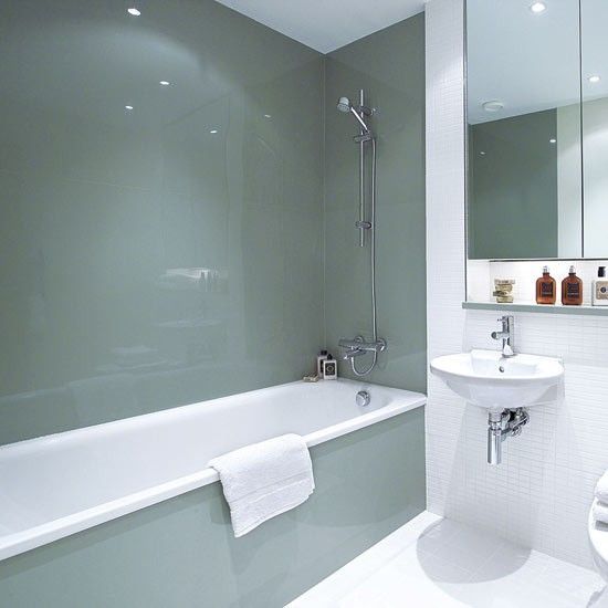 Bathroom ideas, designs, trends and pictures | Bathroom wall .