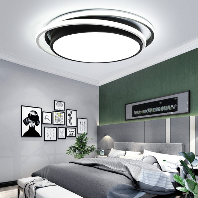 ceiling light with remote control: Best Price Creative Bedroom LED .