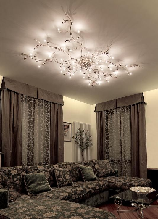 Mesmerize your guests with these gold contemporary style ceiling .