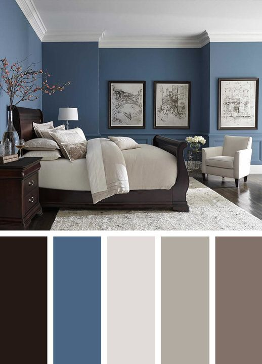5+ Stunning Blue Bedroom Ideas to Breathe New Life into Your Room .