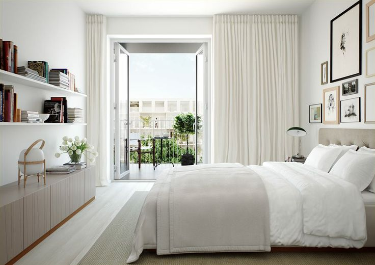 20 Beautiful Curtain Ideas for the Bedro