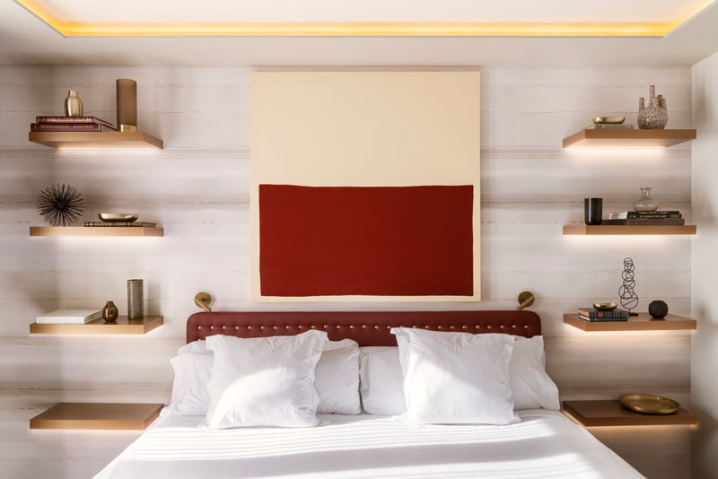 Bedroom Design Idea - Replace A Bedside Table And Lamp With .