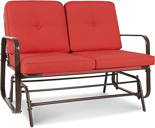 Amazon.com : Best Choice Products 2-Person Outdoor Patio Glider .