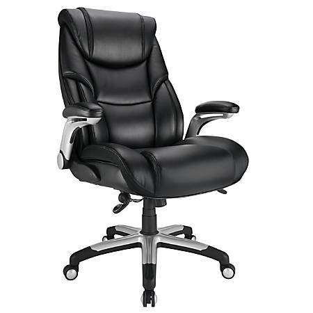 Realspace Torval BigTall Sporty Chair Black - Office Dep