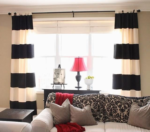 Wide array in Black And White Curtains (With images)   White .