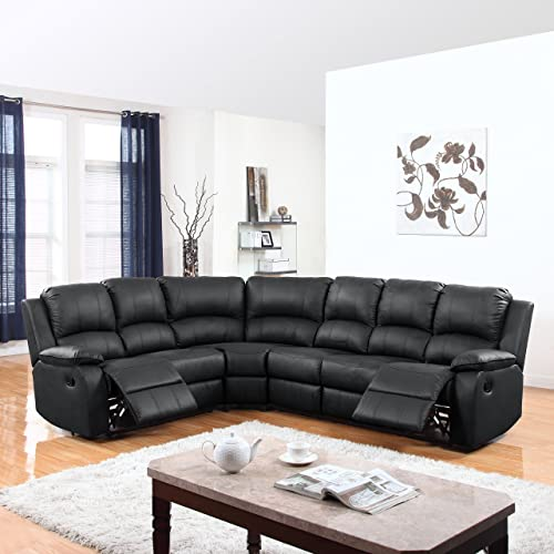 Black Sectional Couches: Amazon.c