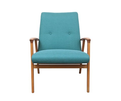 Blue Armchair, 1950s for sale at Pamo