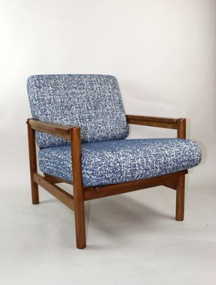 Vintage Blue Armchair for sale at Pamo