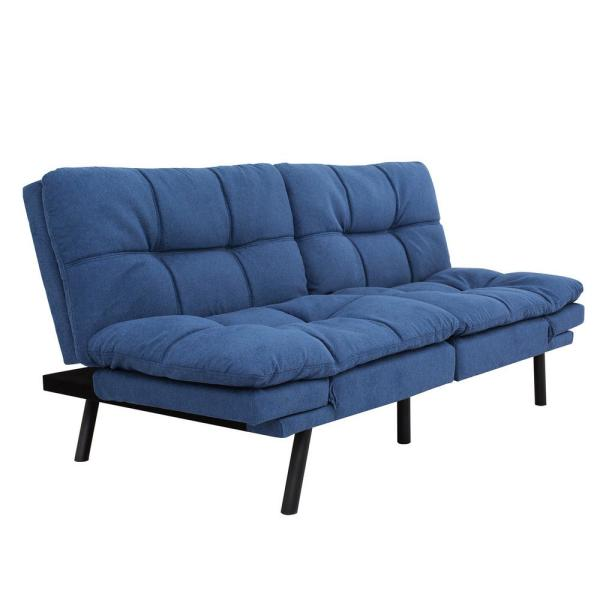 Boyel Living Folding Lounge Couch Blue Sofa Bed BC-267 blue - The .