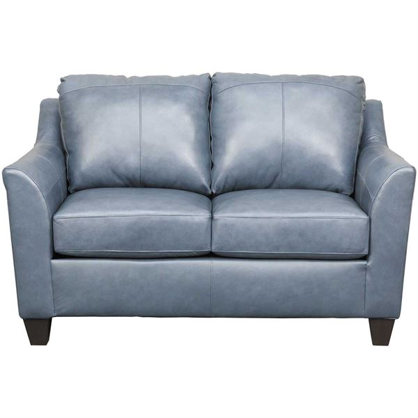 Declan Shale Leather Loveseat 2029L SOFT TOUCH SHALE   Lane Home .
