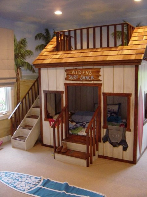 Bunk Bed Ideas For Boys And Girls: 58 Best Bunk Beds Desig