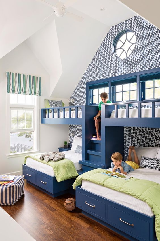 8 Beautiful Bunk Bed Ideas for Maximizing Space in Style   Bunk .