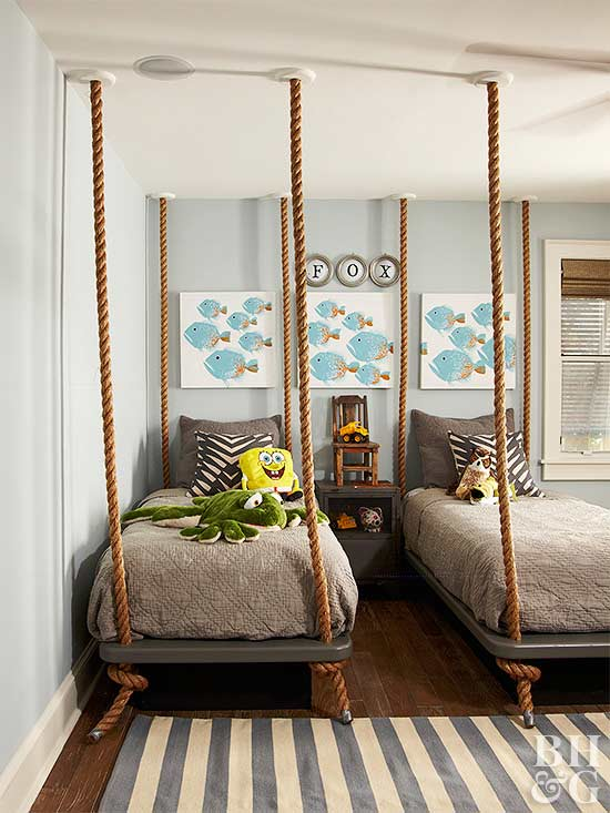 Shared Spaces: Bedrooms for Two Kids   Better Homes & Garde