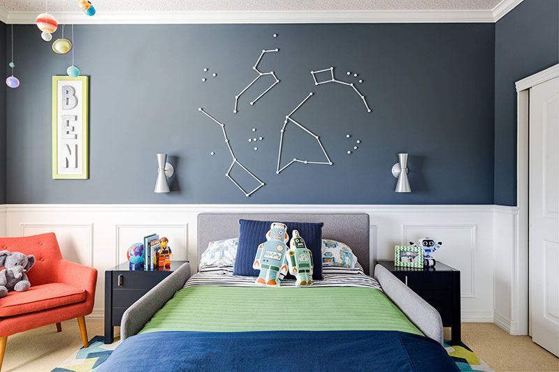Modern Boy's Room Decor Ideas With Lots Of Charm And Flav