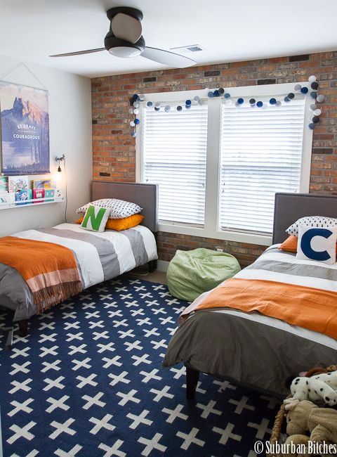 A shared boys bedroom | Big boy bedrooms, Shared bedrooms, Shared .