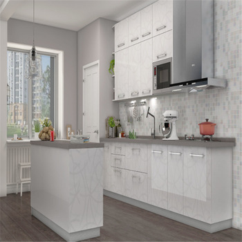 White Off The Shelf Kitchen Cabinets Built In Cupboards With .