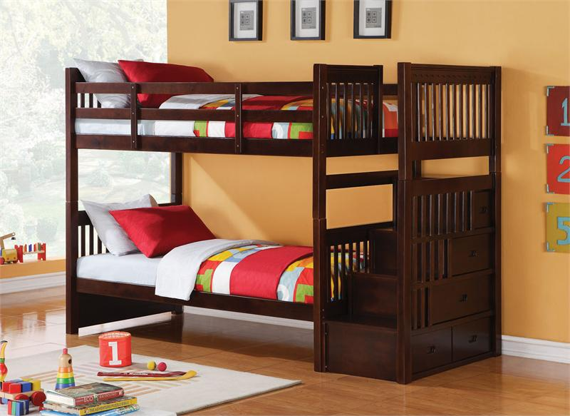 Bunk Beds for Kids Who Share Bedroom with Limited Spaces   yo2mo .
