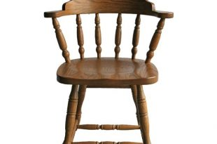 Solid Wood Commercial Dining Captains Chair from DutchCrafters Ami