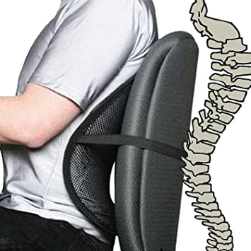 Amazon.com: Cool Vent Mesh Back Lumbar Support For Office Chair .