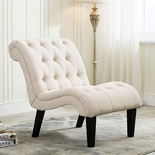 Amazon.com: YongQiang Living Room Chairs Upholstered Tufted .