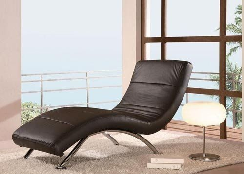 Reclining Chaise Lounge Chair Indoor | Contemporary chaise lounge .