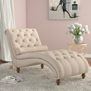"""Linen Small (Width Under 30"""") Chaise Lounge Chairs You'll Love in ."""