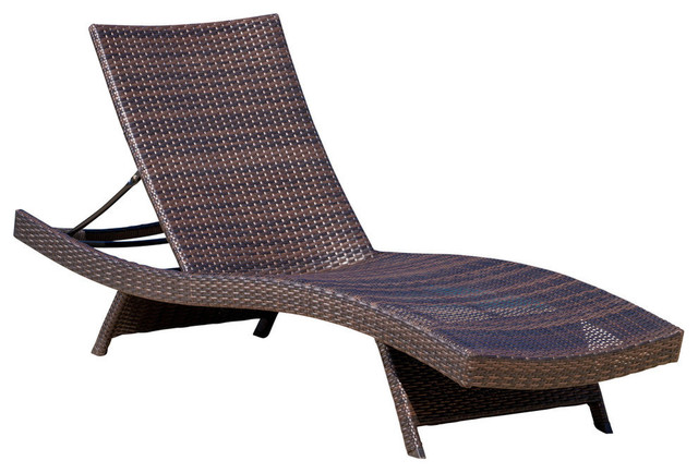 GDF Studio Lakeport Outdoor Adjustable Chaise Lounge Chair .