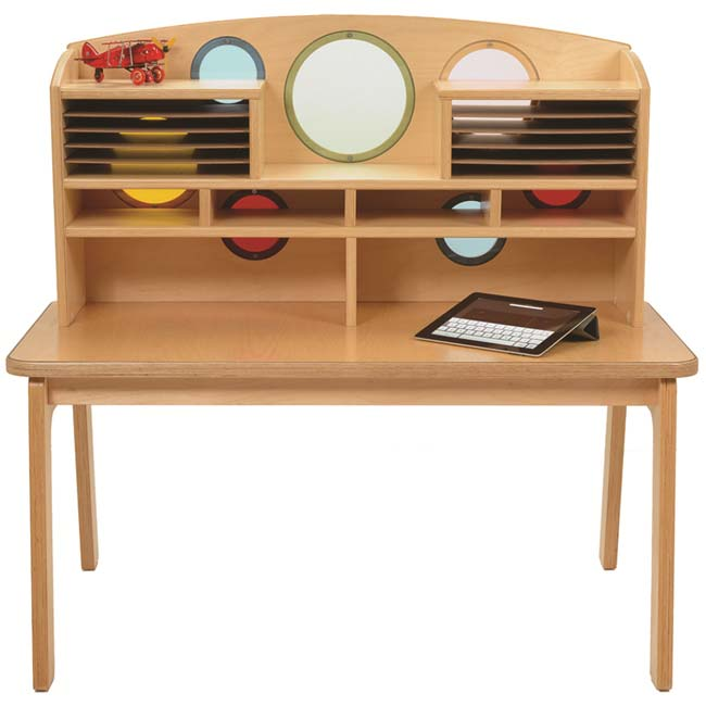Whitney Plus Porthole Writing Desk - Ch0200 | Activity Tables For .