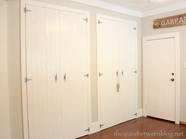 what I learned about my husband while making DIY wood closet doors .