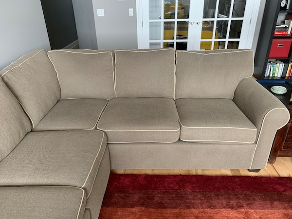 Sold Big comfy sectional couch! in Chicago - let