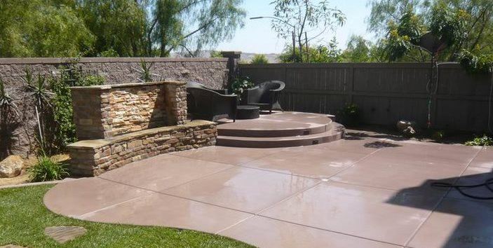 Concrete Patio - Design Ideas, and Cost - Landscaping Netwo