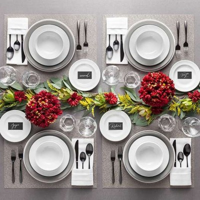 Contemporary, Elegant Holiday Table Setting Collection : Targ