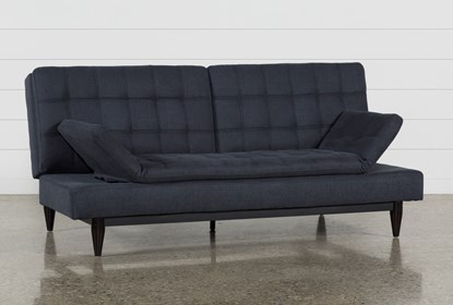 Peggy Grey Convertible Sofa Bed | Living Spac