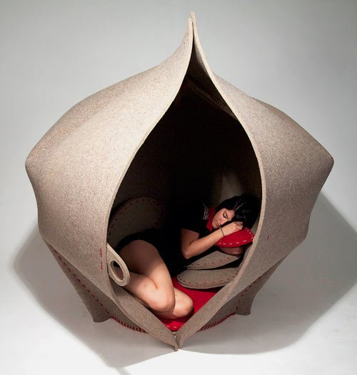Cool Chair Design for Your Solitude Call – HUSH Seating Pod - The .