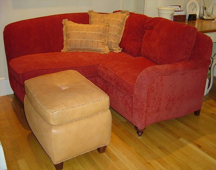 Small Corner Loveseat | Small couch with chaise, Love se
