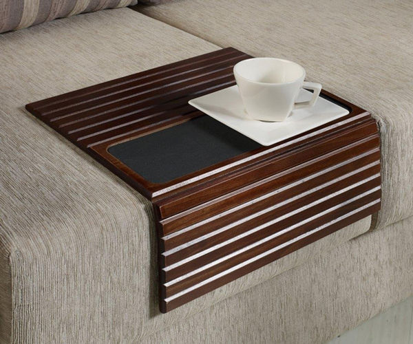 Bendable Wooden Couch Tables : Couch Tab
