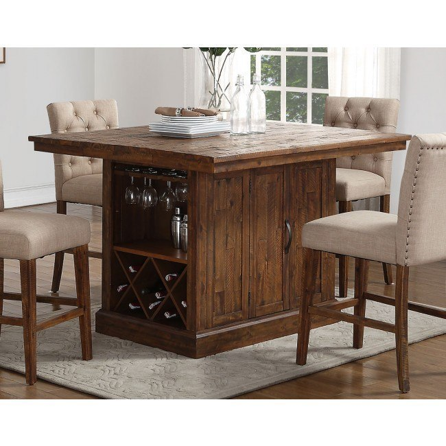 Normandy Counter Height Island Table by New Classic Furniture .