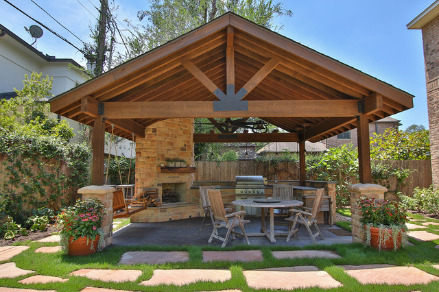 Braeswood Place Outdoor Covered Patio, Sunroom and Balcony .