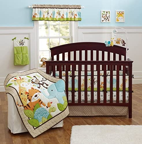 Amazon.com: Brandream Crib Bedding Sets for Boys with Bumpers .