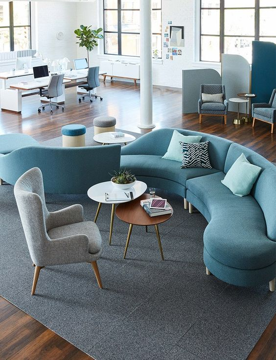 These 20 Curved Sectional Couches Are Perfect For Big Famili